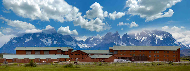Hotels in Patagonia, Torres del Paine National Park.