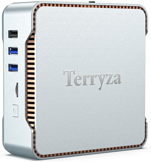 Terryza AK3V Mini PC with Windows 10 Pro