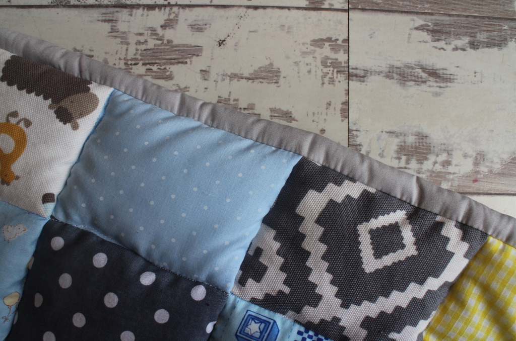 Sewing Project #1 | A Baby Blanket