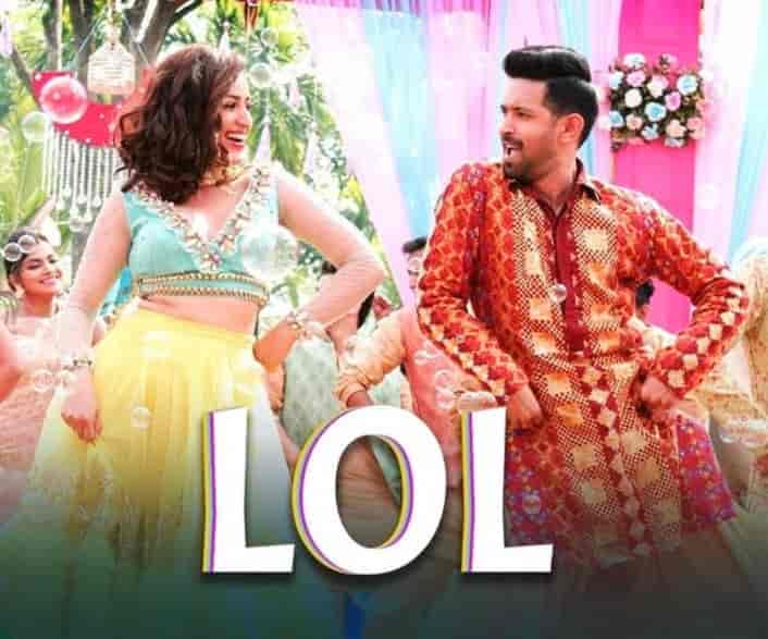 Lol Song Image Features Yami Gautam and Vikrant from movie Ginny Weds Sunny
