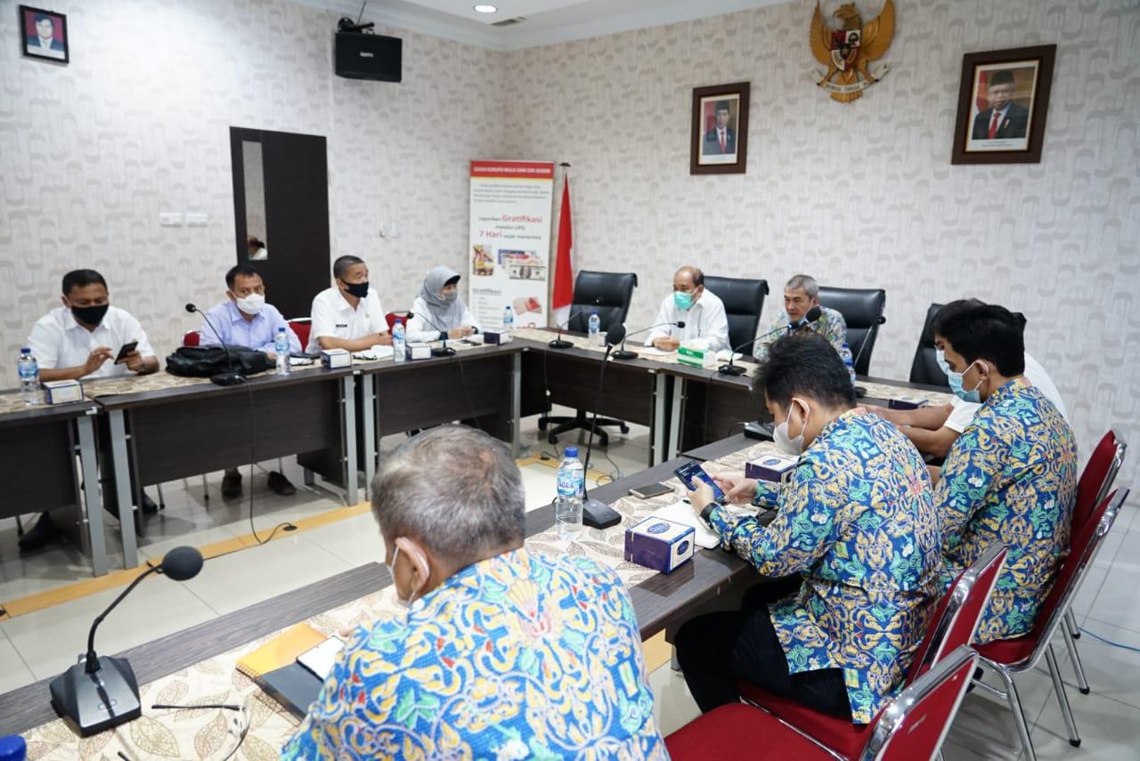 Kunjungi BWSS Medan, Walikota Tebingtinggi Telusuri Rencana Normalisasi dan Pengendalian Banjir di Sungai Padang