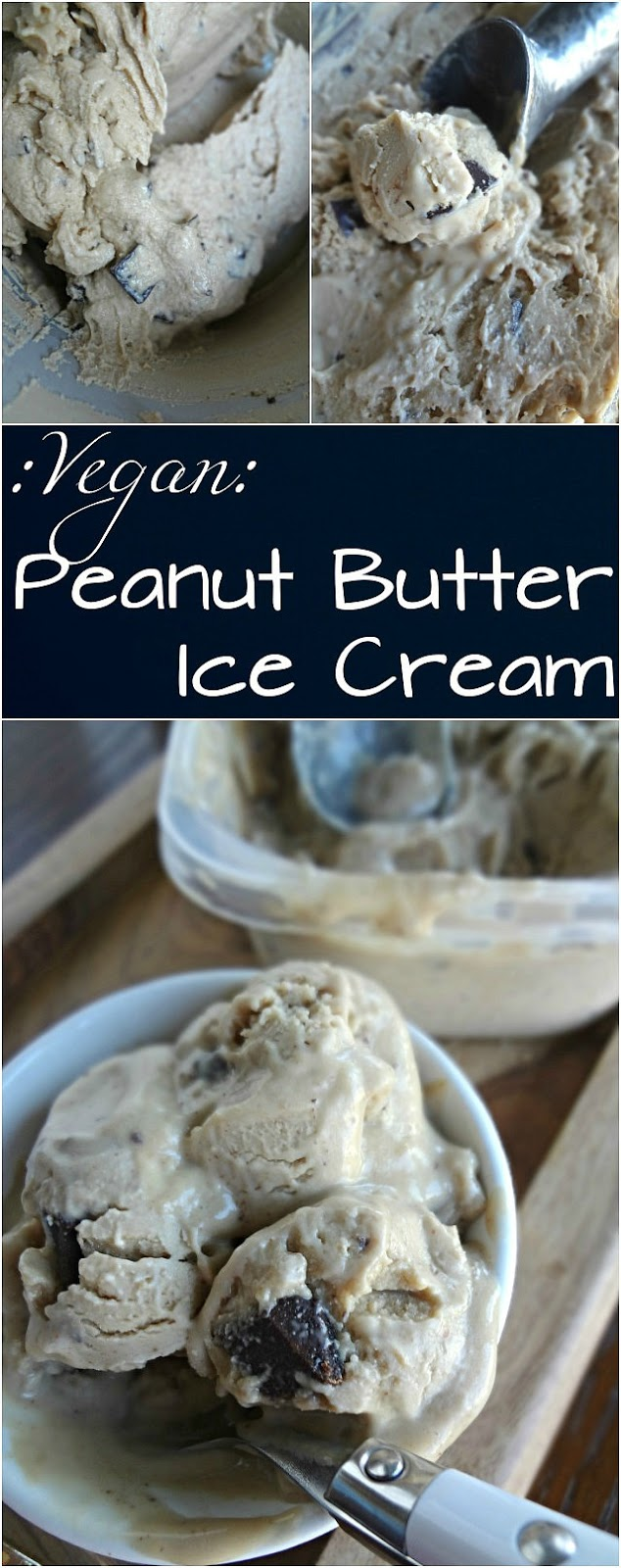 Vegan Peanut Butter Ice Cream