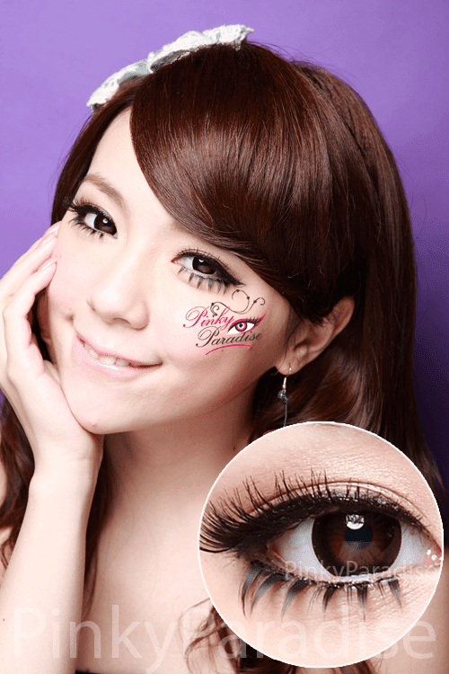 30Days Comfy Black Circle Lenses (Colored Contacts)