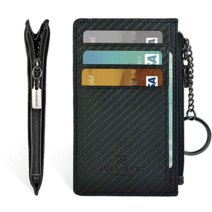 AMAZON - 80% off Slim Leather Wallets for Women & Men