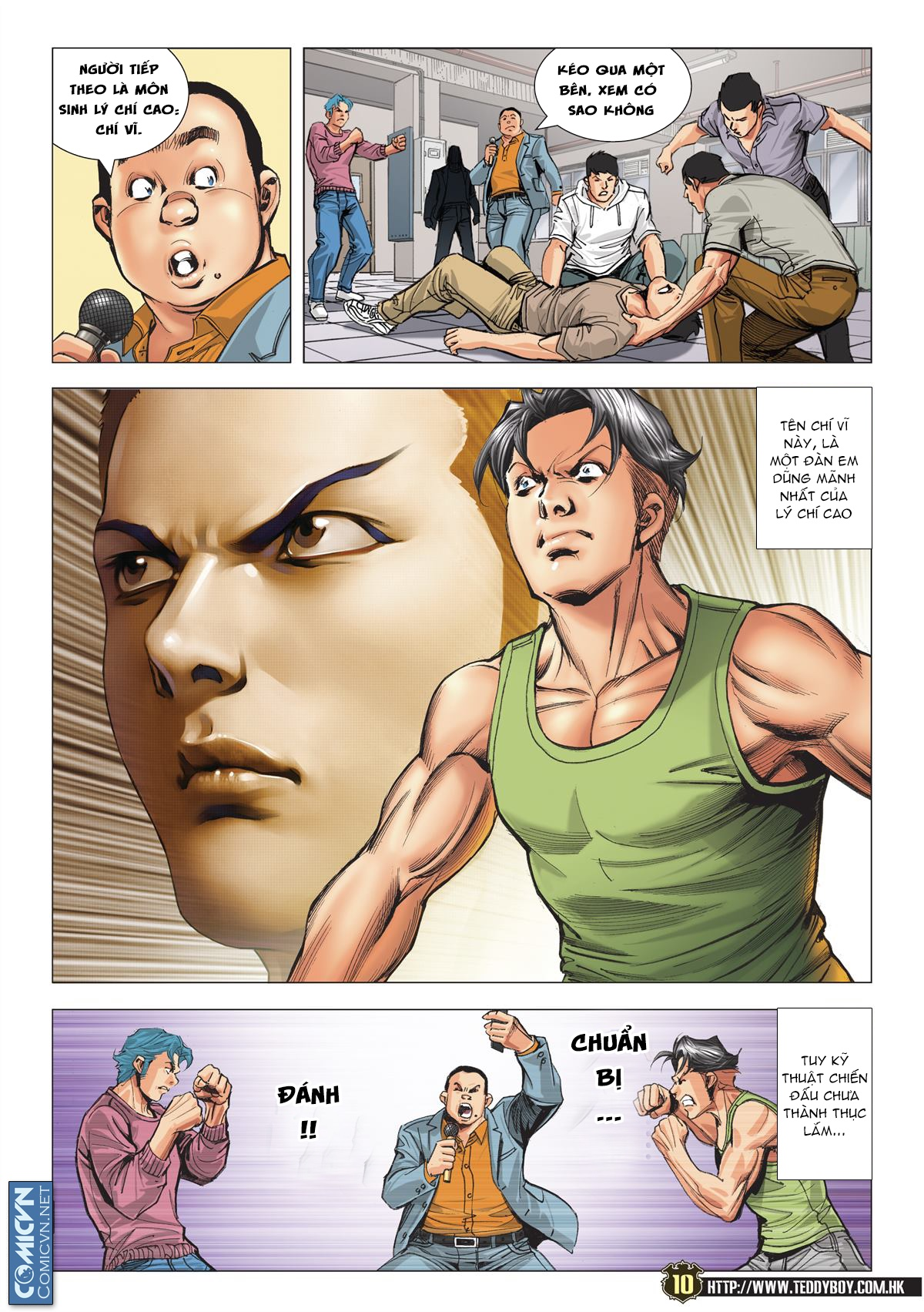 Người Trong Giang Hồ chapter 2119: nam ca vs thượng võ trang 9