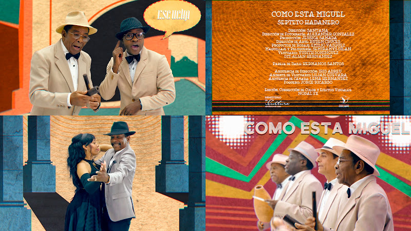 Septeto Habanero - ¿Cómo está Miguel? - Videoclip - Director: Santana. Portal Del Vídeo Clip Cubano. Música tradicional cubana. Son. Cuba.