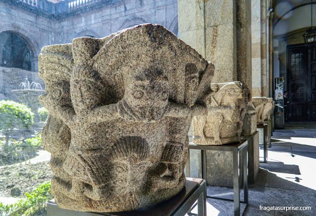 Vestígios arqueológicos na Catedral (Sé) de Braga, Portugal