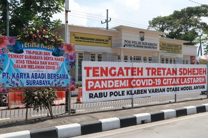 Dukungan Masyarakat untuk Petugas yang Berjuang Melawan Covid-19