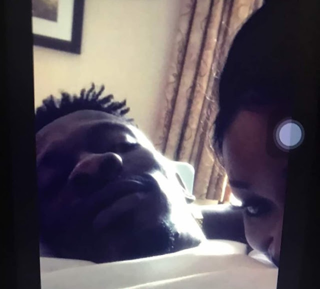 Checkout Photos: Shatta Wale Caught In Bed 'Doing The Thing' With Ghanaian Actress, Efya Odo