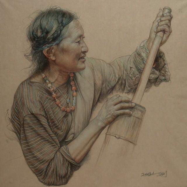 Карандашные портреты. William Wu 10