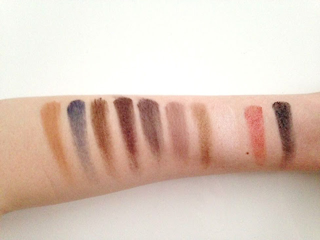 Urban Decay Vice 3 Palette Swatches