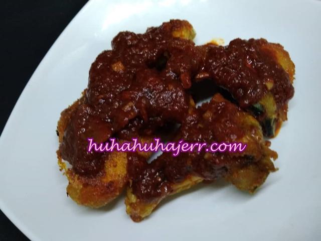 Resepi Ayam Goreng Sambal Cili Yang Simple Sangat.....