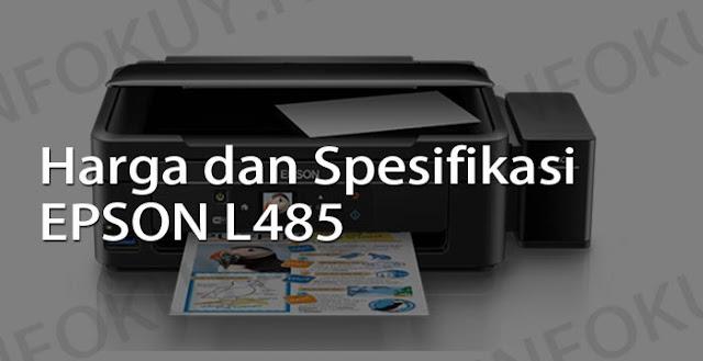 harga dan spesifikasi printer epson l485