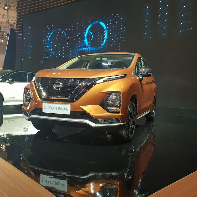 all new nissan livina sunset orange