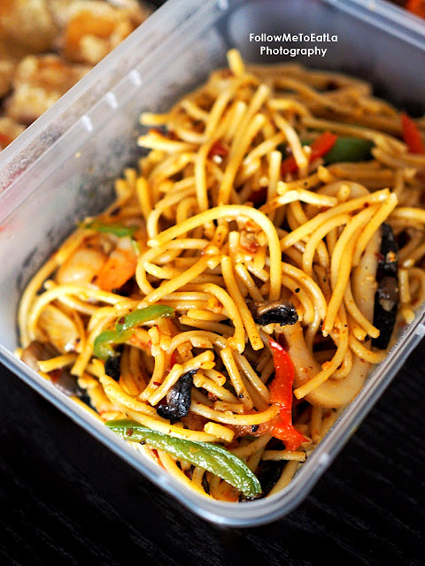 Seafood Spaghetti Olio RM 10+