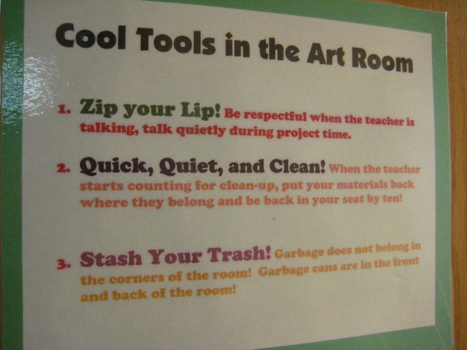 Tales From The Traveling Art Teacher How Does PBIS Work With Class