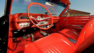1963 Chevrolet Impala SS Convertible Interior