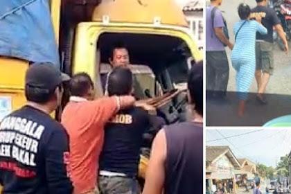 Pengakuan Sopir Truk yang Dipukul-Diancam Ditembak Pria 'Brimob'