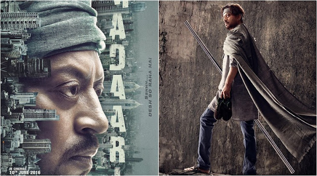 Madaari, Madaari movie, Madaari Irrfan Khan, Madaari Poster