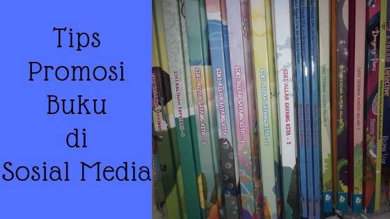 promosi buku di media sosial