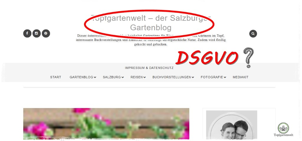 Blog: Umsetzung der DSGVO auf Blogspot.com bzw. Blogger ...