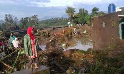 Almisky: Allah memberikan Pelajaran dari bencana Garut.