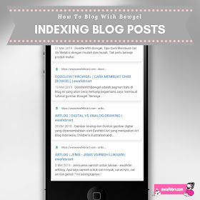 indexing blog posts