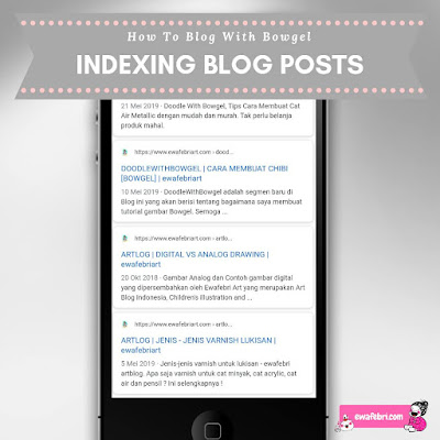 indexing blog posts