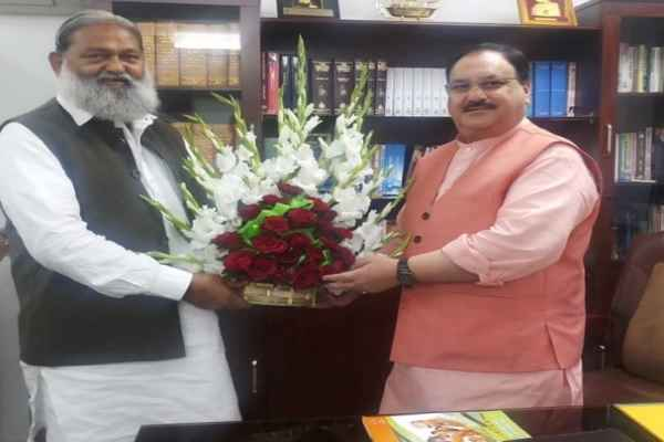 haryana-home-minister-anil-vij-meet-bjp-national-working-president-jp-nadda