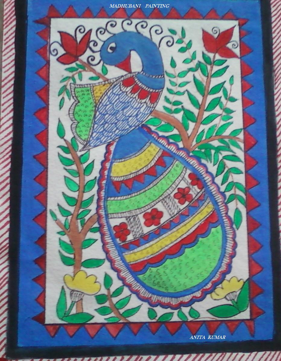 CRAFT WORLD Madhubani Paintings