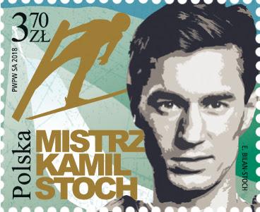 Kamil Stoch na znaczkach pocztowych!