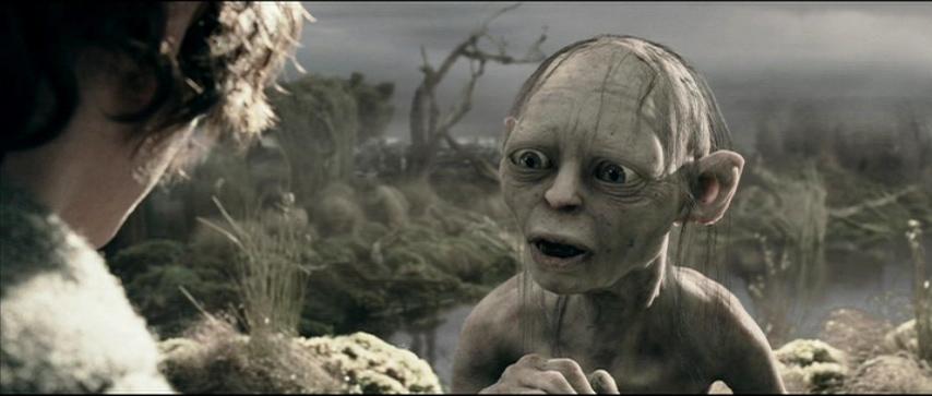frodo and sam meet gollum
