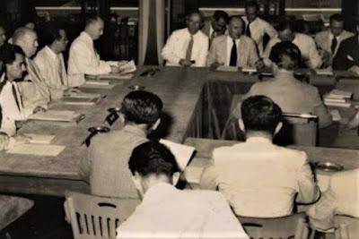 Gambar Suasana Perjanjian Roem Royen