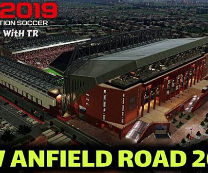 PES 2019 New Anfield Road + Exterior