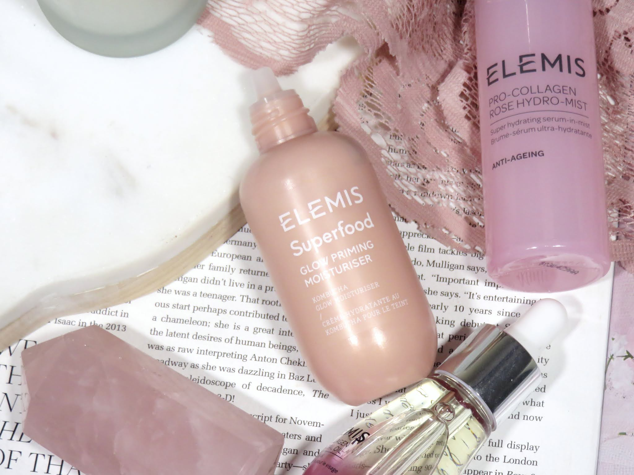 Elemis Superfood Glow Priming Moisturizer Review and Swatches