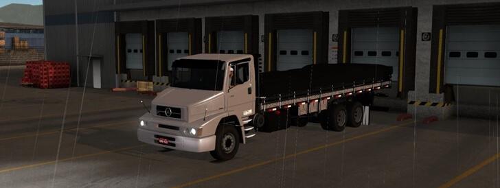 Caminhão na versão Truck do Mapa EAA