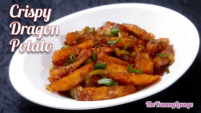 Restaurant Style Crispy and Spicy Veg Dragon Potato Recipe.