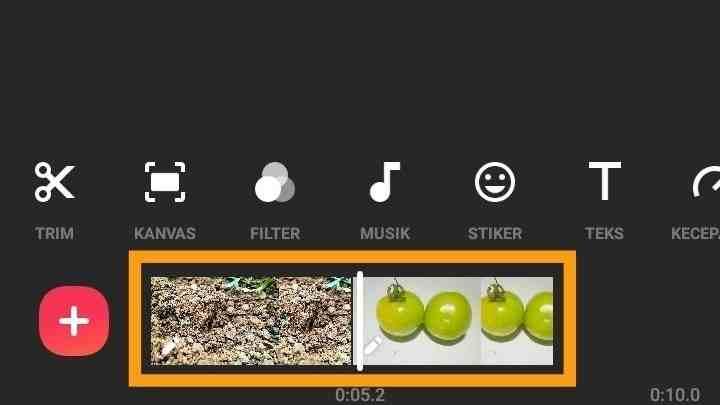Aplikasi penggabungan gambar dan video