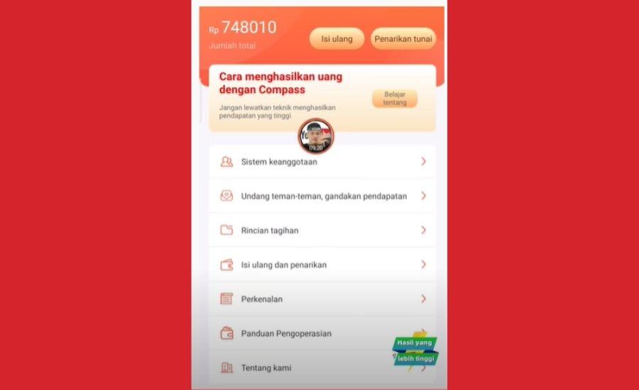 Compass Apk Aplikasi Penghasil Uang Masa Kini Benarkah Atau Scam Kak Ceng Com
