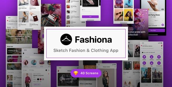 Sketch Fashion & Clothing App