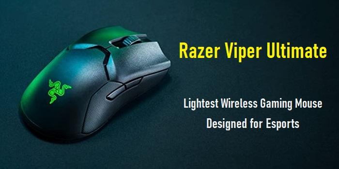 Razer Viper Ultimate Lightest Wireless Gaming Mouse