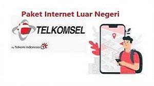 Paket Internet Luar Negeri Telkomsel