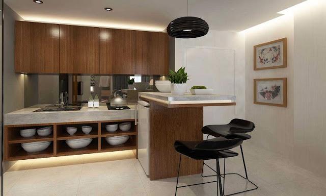 Contoh III: Desain Rumah Minimalis Sederhana | Dapur dan Meja Makan Minimalis