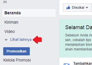 cara mengubah nama fanspage