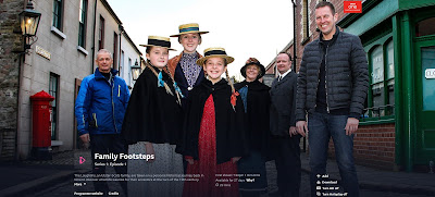 Family Footsteps series on BBC Northern Ireland
