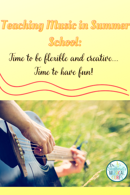 Teaching Music in Summer School