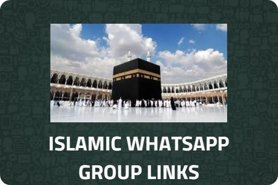 ISLAMIC-WHATSAPP-GROUP-LINK-LIST