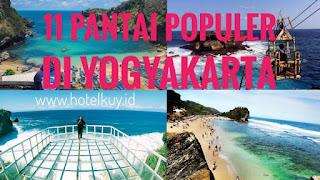 11 Wisata Pantai di Jogja populer dan hits untuk foto instagram