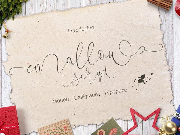 Mallow Script Font Free Download