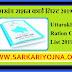 Uttarakhand Ration Card List 2019